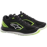 Alpinestars Alloy Shoes Black Green Sneaker
