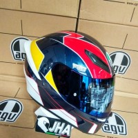 Visor Iridium Blue AGV K1 - Original 100%