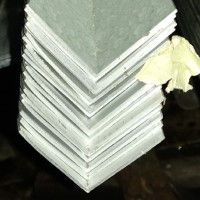 "Siku Aluminium 1"" x 1"" x 2 mm (2,5 cm x 2,5 cm) / meter"