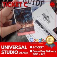 Ticket Universal Studio Japan High Season |Tiket USJ Dewasa Tiket C