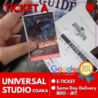 Ticket Universal Studio Japan Low Season |Tiket USJ Dewasa Tiket A
