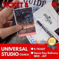 Ticket Universal Studio Japan Mid Season |Tiket USJ Anak Tiket B