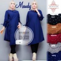 maudy atasan jumbo tunik blouse muslim