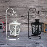 Love Wrought Iron Candle Holder / Tempat Lilin Lentera Aromaterapi