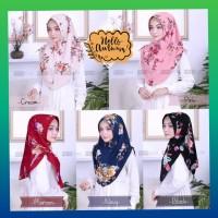hijab muslim wanita scarft kerudung khimar syari jilbab bergo hitam