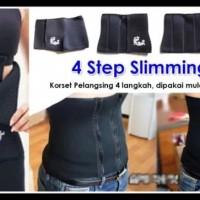 4 Step Shape Slimming Belt Korset Pelangsing