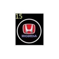 Lampu LED Sorot Logo Proyektor Pintu Mobil Car Door Portable Honda