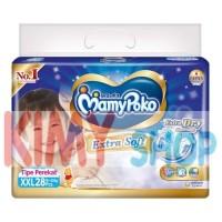 Harga popok perekat bayi mamypoko tape extra dry xxl 28 | Pembandingharga.com