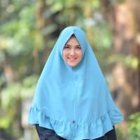 Nibras hijab Marbela Khimar Pet Antem / Jilbab Instan syari / jilbab