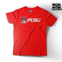 Harga kaos baju tshirt tees gamers game pubg warna hitam logo pubg | Pembandingharga.com