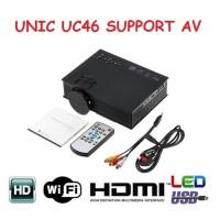 UNIC UC46 Projector / Proyektor WIFI 1200LM