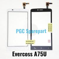 Original Touchscreen Evercoss A75U - Layar Sentuh TS Cross Evercross
