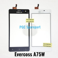 Original Touchscreen Evercoss A75W - Layar Sentuh TS Cross Evercross