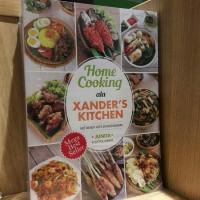Buku Home Cooking Ala Xander Kitchen
