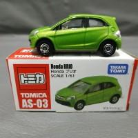 Tomica AS-03 Honda Brio Green
