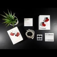 Knowledge Zenith KZ ZS3E HiFi Earphone with Silver Cable NON MIC