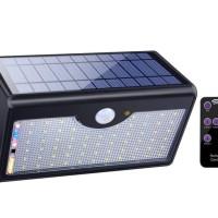 Solar Motion TJ 60 LED Lights Outdoor Wireless Sensor Remote Control
