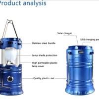 Lampu Portabel Stretchable Outdoor Solar Light(READY WARNA BIRU AJA)