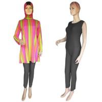 Baju Renang Muslim Blus ML-BL008 Dasar Hitam