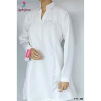 Baju Hamil dan Menyusui Jumbo Putih AHS132