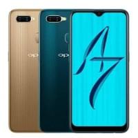 promo harga Hp Oppo A7 ram 4gb Warna hijau Terbaru