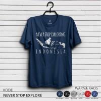 Jual Kaos Aku Cinta Indonesia - Bahan Combed 30s Murah