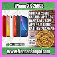 iPhone XR 256GB Black Red Yellow Blue Coral Apple Garansi 1 Tahun 256