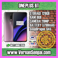Oneplus 6T 8GB / 128GB - InDisplay FingerPrint - NEW - ORIGINAL