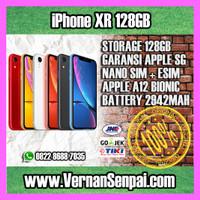iPhone XR 128GB Black Red Yellow Blue Coral Apple Garansi 1 Tahun 128