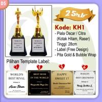 Paket DS KH1 Piala Awards Oscar / Citra (Kotak Hitam, Raser)