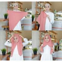 Murmer hijab/jilbab segi empat instan