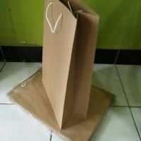 Paper Bag Coklat 25x36x10 cm
