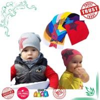 Topi Bayi Bayi Kapas 1 Pcs Bayi Beanies Topi untuk Anak Perempuan