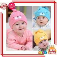 Multwarna lahir Lucu alat peraga Musim Gugur Kartun Bayi Topi Topi
