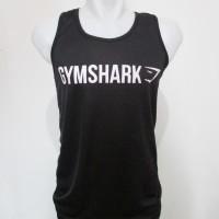 Singlet Kaos Fitness / Gym Shark Underarmour UA Spandek Stretch Murah