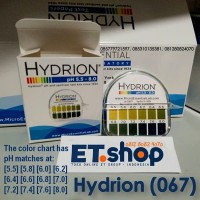 Hydrion 067 pH Test Paper - Kertas pH 5.5-8.0 - Uji Urine & Saliva