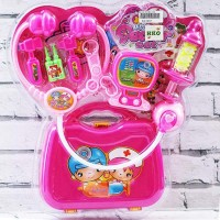 Mainan Bayi Anak Little Doctor Set Pink