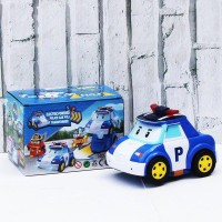 Mainan Bayi Anak Mobil Robot Poli Car