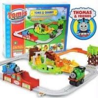Mainan Bayi Anak Mobil Kereta Thomas and Quarry