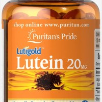 Puritan's Pride Lutein 20 mg with Zeaxanthin isi 60 softgels