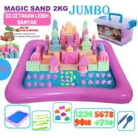 Mainan Pasir Ajaib Model Sand Jumbo 2 kg Original