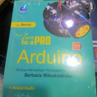 Buku From Zero To A Pro: Arduino + bonus CD