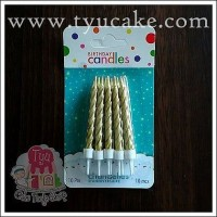 GOLD S645-Lilin Spiral Kcl isi 10