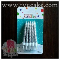 SILVER S645-Lilin Spiral Kcl isi 10