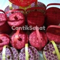 Parcel Imlek Rantang Bambu Cantik 2 Susun 13 cm