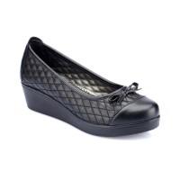 Polaris 82.156925.z Siyah Kadın Ayakkabı