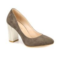 Butigo 18K-047 Haki Kadın Gova Ayakkabı
