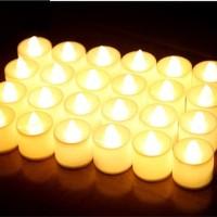 Lampu Lilin Led Bulat Lilin Elektrik Lampu Dekorasi Lilin Led Murah