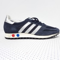 adidas LA TRAINER navy silver BB1208 BNIB without tag 8.5 UK