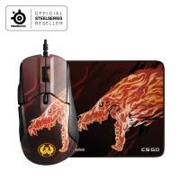Steelseries Rival 310 CS:GO Howl Edition+Qck+CS:GO Howl Edition